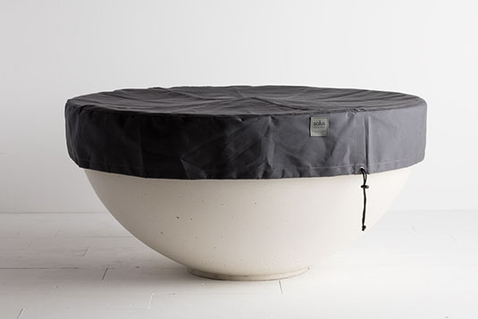 Solus hemi firepit all weather cover