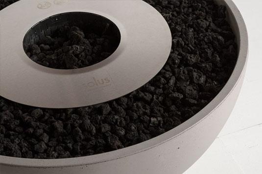 Solus firepit accessories fuel burner