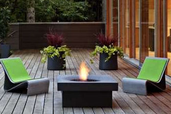 Solus halo 36 elevated firepit