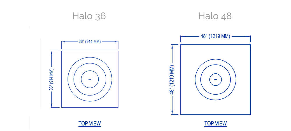 solus halo low technical drawing