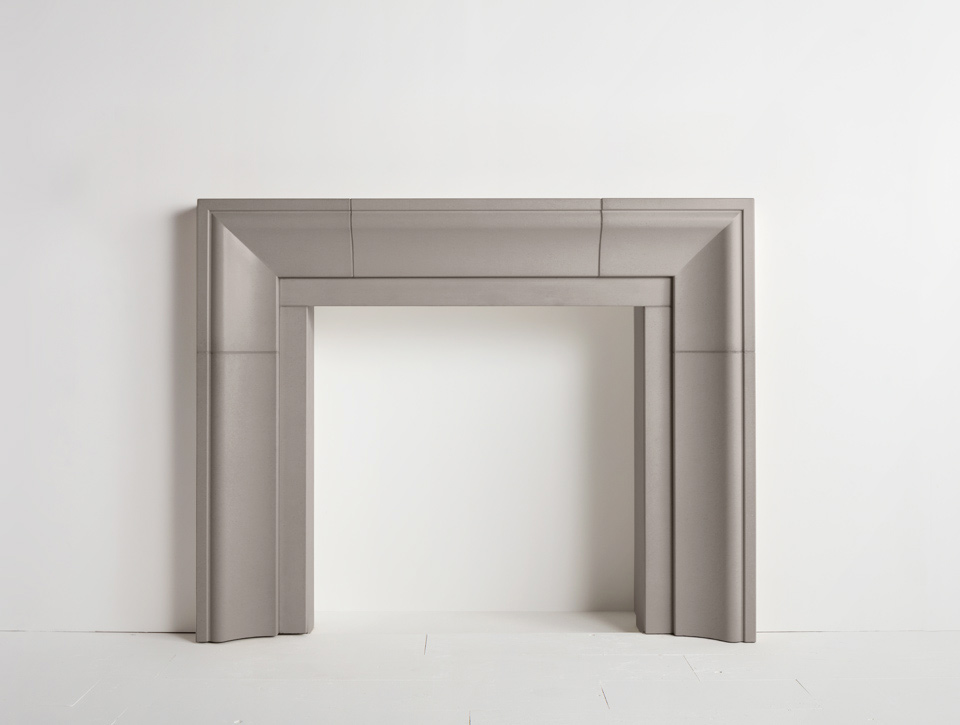 Solus concrete fireplace surround - Fraser