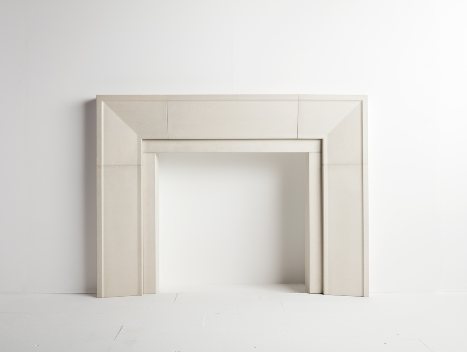 Solus concrete fireplace surround - Taper