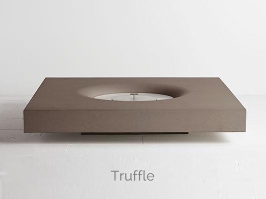 Halo firepit truffle