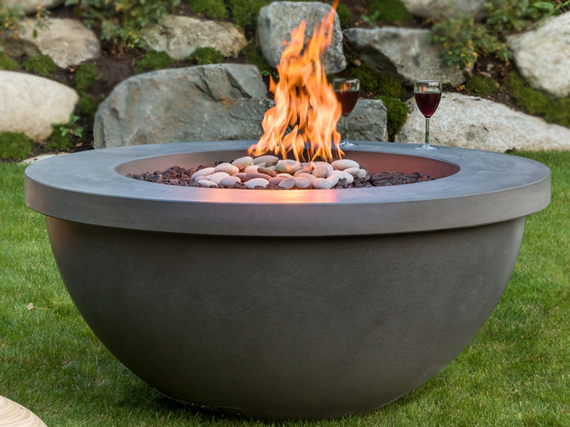 Hemi 48 firepit drinks ring