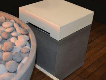 Firecube propane tank holder table