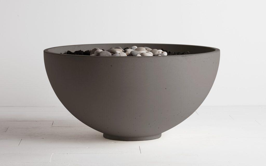 Hemi Fire bowl fire pit cinder colour
