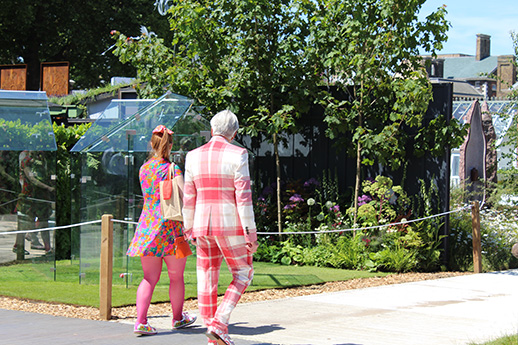 Fashion at Chelsea flower show 2017