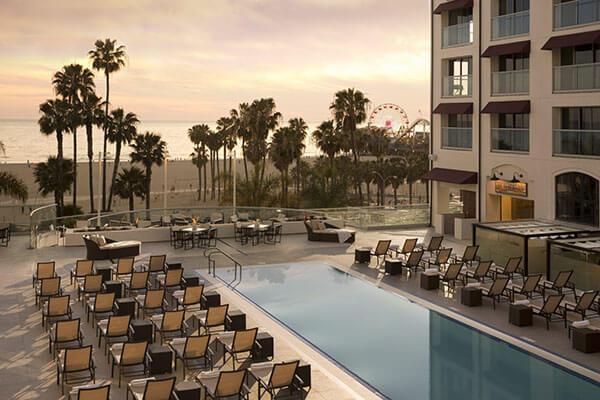 Loews Santa Monica Pier Hotel Ocean View Pool