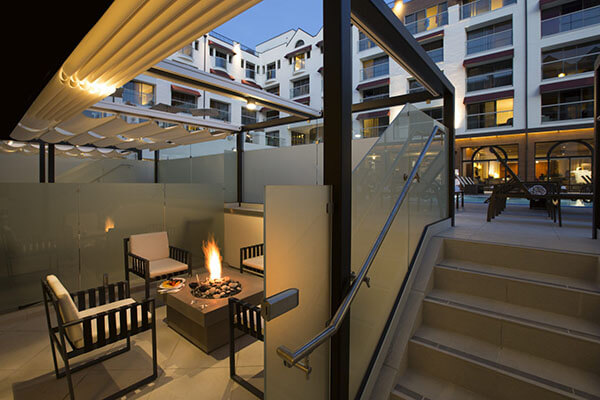 Poolside cabana loews santa monica beach hotel