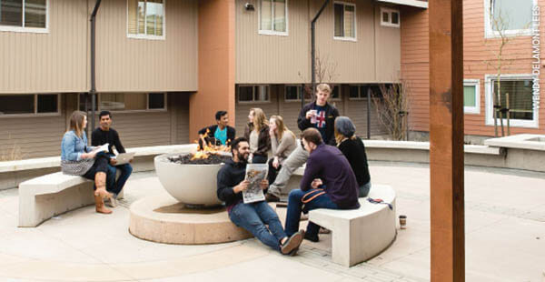 Fire Pit Trinity Western University