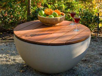 Hemi 26 IPE wooden table top