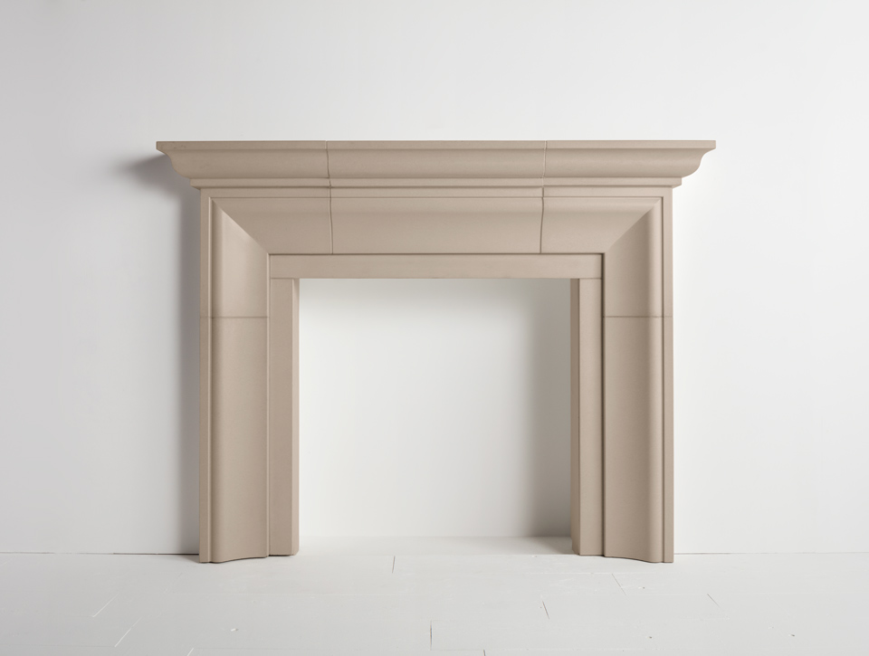 Solus concrete fireplace surround - Fraser Mantle