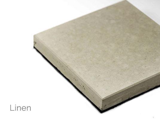 Solus concrete colour linen