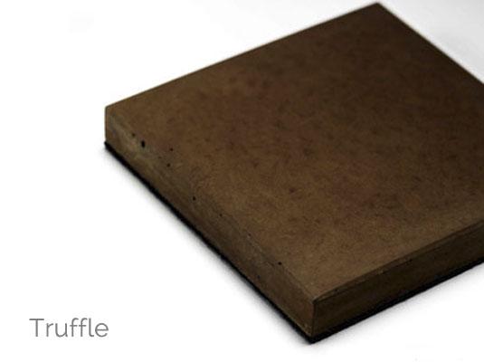 Solus concrete colour truffle