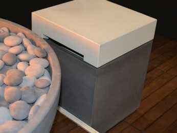 Firecube propane tank holder table