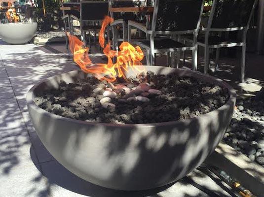 restaurant firepits