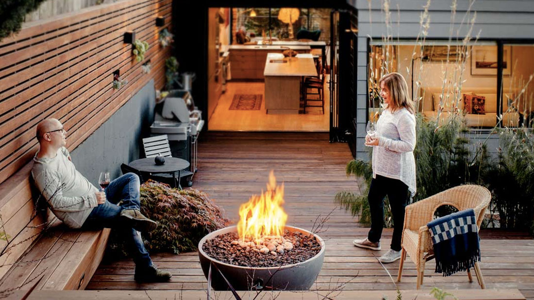 Solus firepits for home owners and domestic gardens