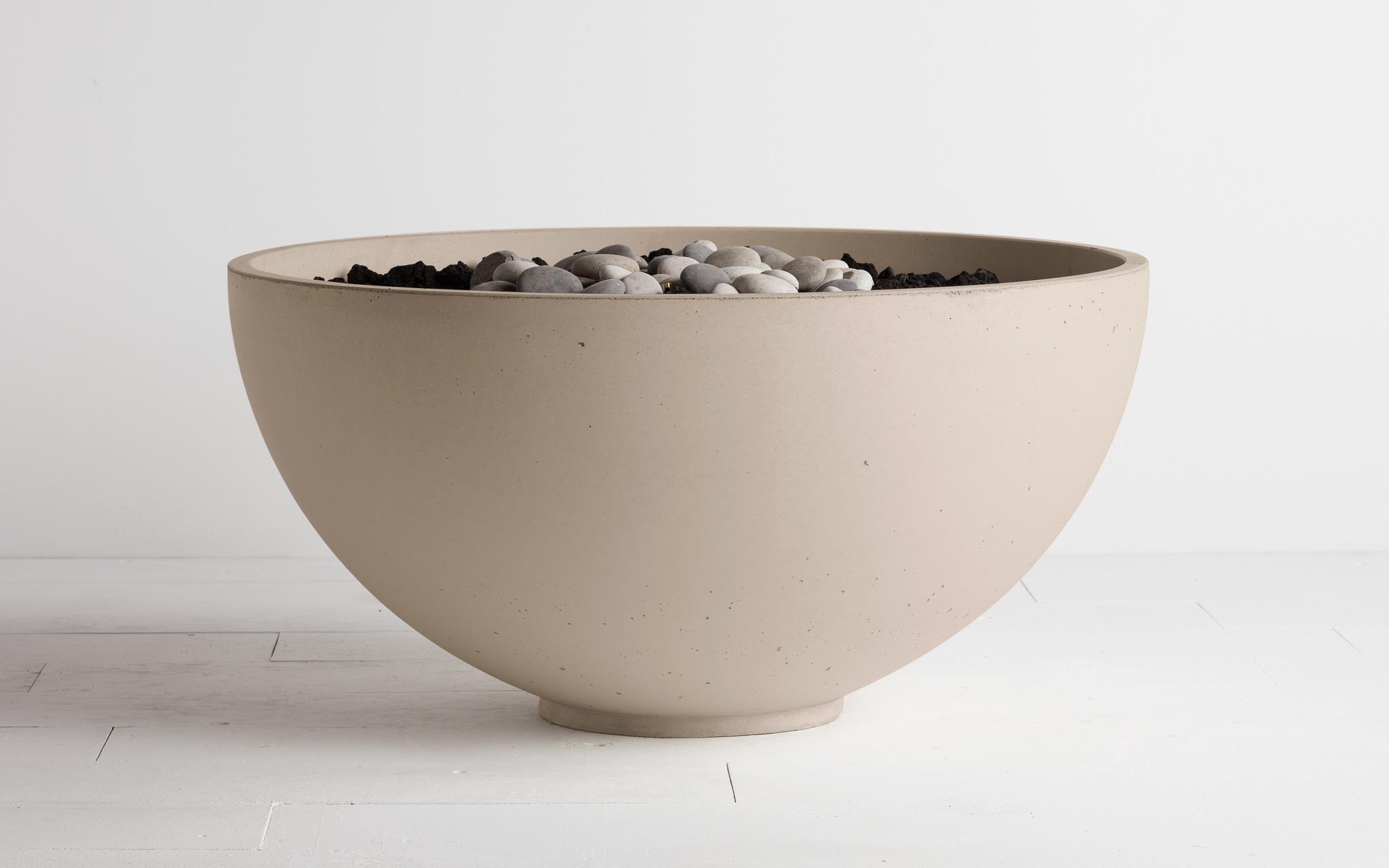 Hemi Fire bowl fire pit linen colour
