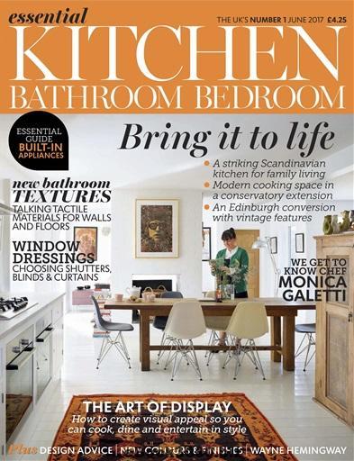 Essential Kitchen Bathroom Bedroom Magazine June 2017